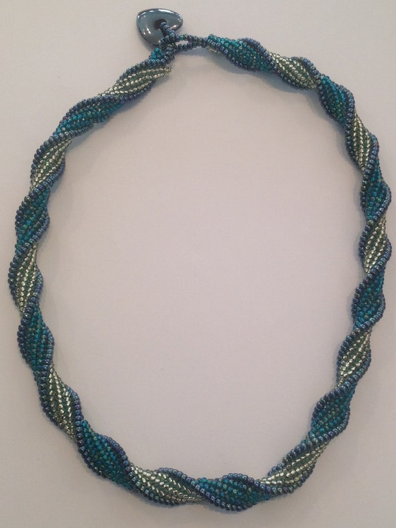 Herringbone Spiral necklace kit