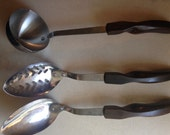 Cutco Kitchen Ware - Soup Ladle, Spoon and Slotted Spoon