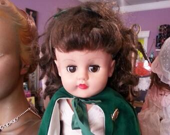"Irish Lass 16"" doll 1960's Shannon"