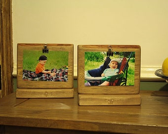 Picture Frame Rustic From Reclaimed Wood