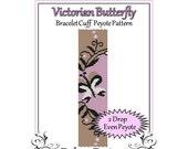 Bead Pattern Peyote(Bracelet Cuff)-Victorian Butterfly