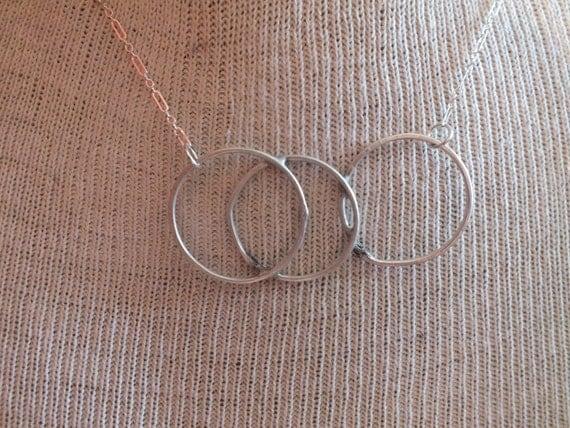 Three Hammered Circles Intertwined