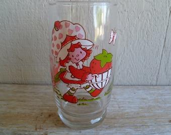 Strawberry Shortcake  Large Juice Glass