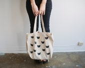 50% off Black Cat Tote Seconds