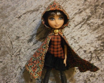 Berry cloak  for fashion dolls
