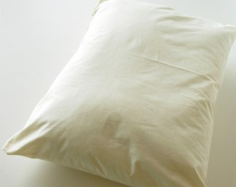 Wool filled Queen size pillow
