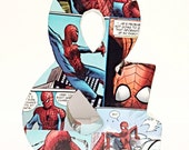 Small Ampersand Comic Book Art, Pop Art, Custom Made 6 inch