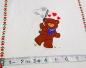 Luv Bears Picture Book Patches, Cranston Print Works Fabric, 10 book patches, 1/2 yard remnant, Soft Book Panels
