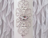 Wedding Unity Candles | Rhinestone Embellished | White or Ivory