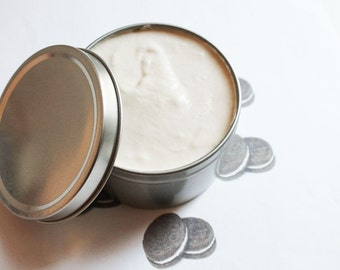 Oreo Cookie Whipped Body Butter - Scented Vegan Whipped Shea Butter - Natural Body Butter - Whipped Lotion - Tin Jars
