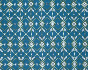 Diamond Mine in Ink PWAH090 - FOLK SONG by Anna Maria Horner - Free Spirit Fabric  - 1 Yard