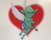 Yoda Cupid Fridge Magnet