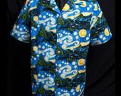 NEW Go Van Gogh limited-edition ultra-high quality men's shirt