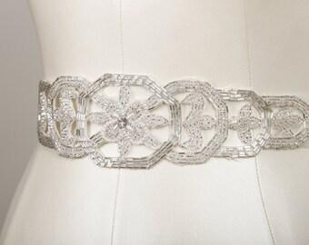 Astor  Beaded Bridal Belt