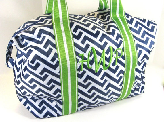 Nautical Tide Travel Tote
