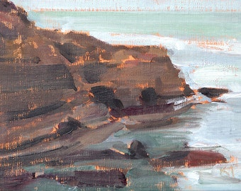 Ocean Beach, San Diego Landscape Painting