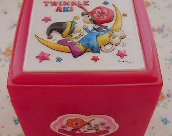 The musical Kawaii jewerly box.80s. Twinkle Aki.Xtra Rare.Working.Thanks