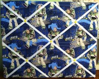 French Memo Photo Board Handmade 16X20 Toy Story Buzz Lightyear