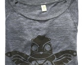 Soul Power Ladies Long Sleeve Screenprint Shirt