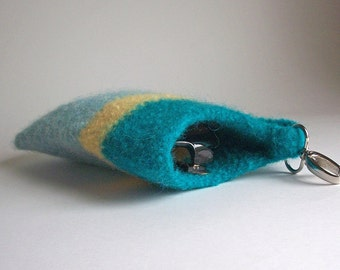 Crochet PATTERN - Wool Felted Sunglasses Case - Pattern Only - With Permission To Sell Finished Item