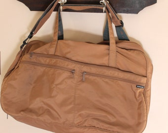 Travel in Style.. Vintage Members Only Duffle Bag, Travel Case