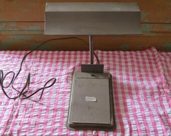 Vintage Metal Desk Light.