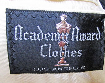 1940s-50s Academy Award Clothes, Sportscoat, striped / Summer sportscoat / Jacket / double breasted / wedding