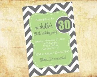 adult birthday invitations, birthday party invitations, birthday invites, birthday invitations, custom birthday invitations