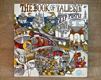 Deep Purple - The Book of Taliesyn - 1968 Vintage Vinyl Record Album