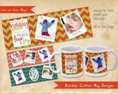 Personalized Holiday Coffee Mug Custom Coffee Mug Personalized with your Photo or Logo