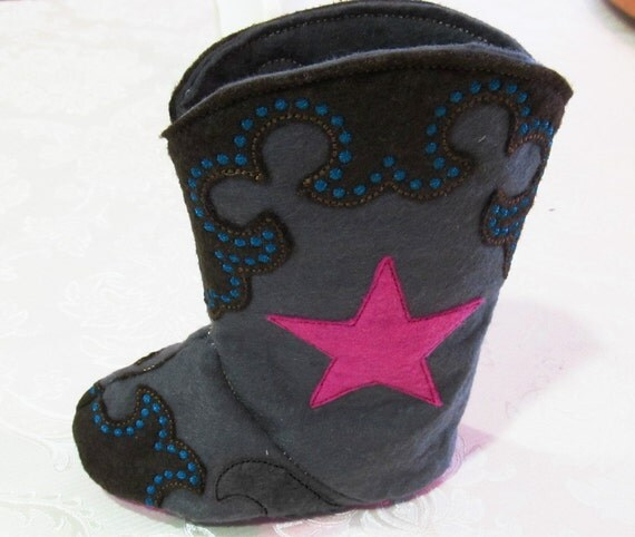 Cowboy Boots Embroidery Designs