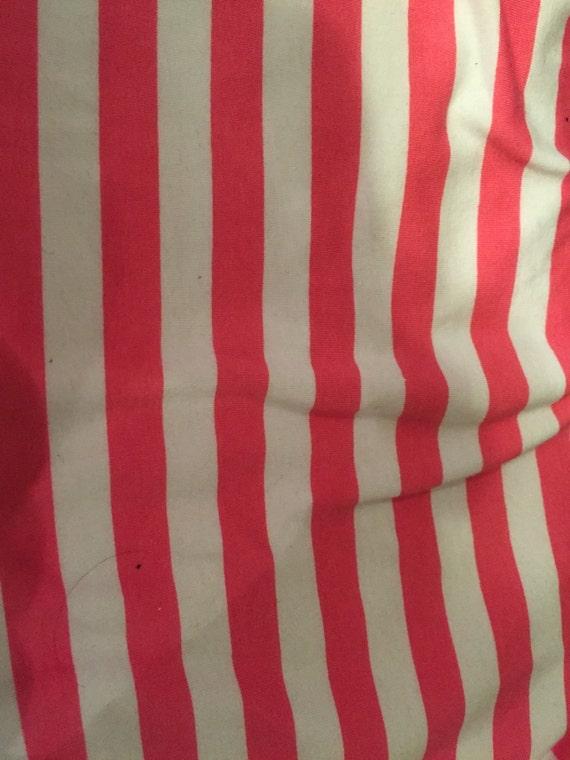 Riley Blake  Hot Pink Stripe  Knit (1/2 Yard Cut)