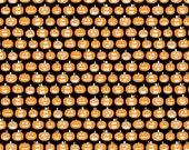 SALE Riley Blake Halloween Magic By Bella Blvd Glow In The Dark Pumpkins 1 Yard