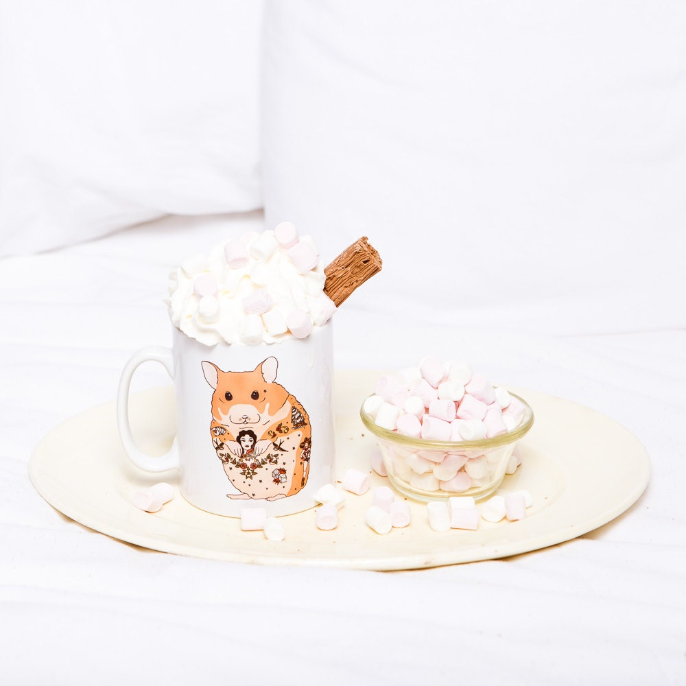 Hamster Pet Mug Hamster Birthday Gift Hamster Wedding By