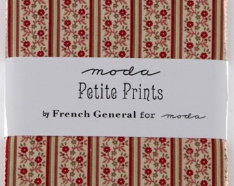 SALE Petite Prints Charm Pack by French General for Moda