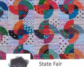 State Fair Quilt Pattern by Jen Kingwell