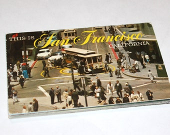 25 Vintage San Francisco California Chrome Postcards Blank - Wedding Guestbook