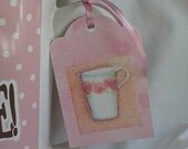 Coffee Mug/Tea Cup Gift Tag Sets