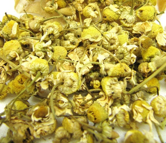 4 Cups Dried Chamomile whole // FANCY Grade A Chamomile // German Chamomile Tea // Culinary Grade Whole Chamomile Flower,