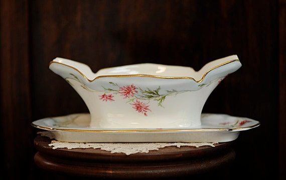 Estate Russian Imperial Antique Porcelain Kuznetsov CAVIAR BOWL SERVER ca. 1900