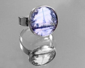 In Paris Silver Slip-on Ring