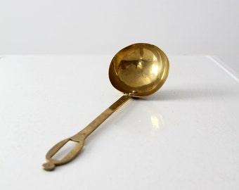 FREE SHIP  antique brass ladle