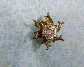 Vintage VFW Ladies Auxiliary Pin - BR-253 - VFW Brooch - Vfw Pin - Ladies Auxiliary Brooch