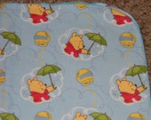 Winnie the Pooh its Raining Honey XL Receiving Blanket