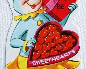 1960s Vintage Yogi Bear character Cindy Bear Hanna Barbara valentine, unused
