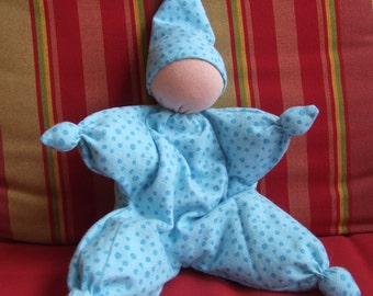 Waldorf-style butterfly doll