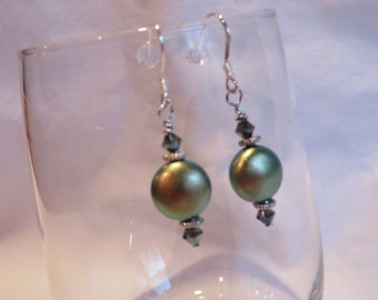 Green Spell Dangles, Earrings, Dangle, Green