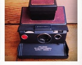 Polaroid SX-70 Land Camera Alpha 1 Model 2 W/ New Chili Leather Covering - GUARANTEED WORKING