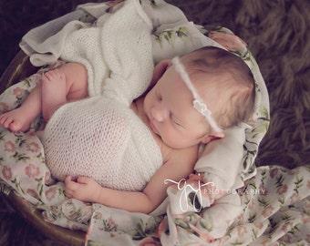 Mohair Baby Wrap - Photo Prop- 16 Color Choices !
