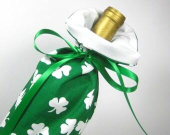 Lucky Clover, Class Wrap Wine Gift Bag